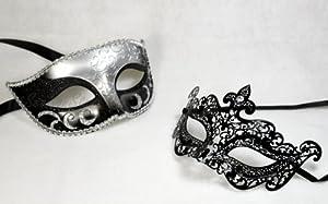 Couple Lover Mask Mardi Gras Venetian Halloween Ball Prom Masquerade Mask