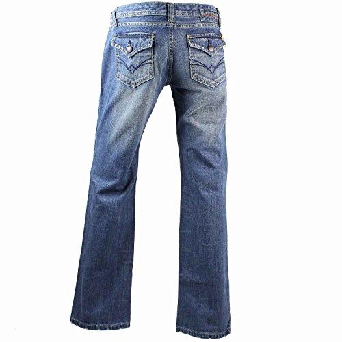 damen blue jeans low waist used look g nstige hosen. Black Bedroom Furniture Sets. Home Design Ideas
