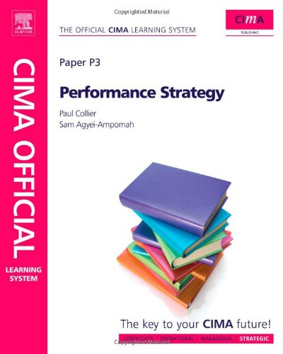 CIMA Official Learning System Performance Strategy, Sixth Edition