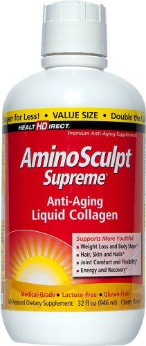 Health Direct Aminosculpt Supreme Cherry Flavor 32 Fl Oz