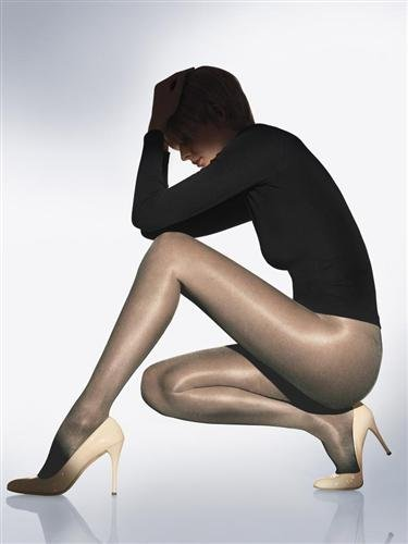 Wolford Satin Touch Pantyhose, Medium, Steel