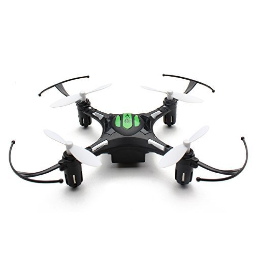 Eachine H8 Mini Headless Mode 2.4G 4CH 6 Axis Nano Quadcopter Drone RTF Mode 2 (Black)