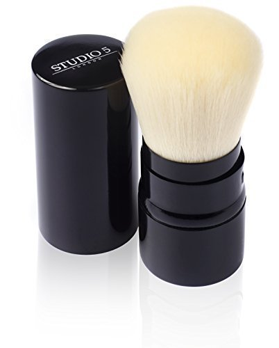 Retractable Kabuki Brush by Studio 5 Cosmetics - Apply your makeup on the move (Kiko Liner compare prices)