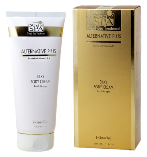 Alternative Plus Silky Body Cream (for all skin types) - Enriched with Vitamins E & A + 2 FREE Samples