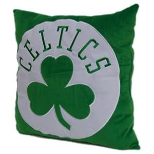 Boston Celtics 16-Inch Polyester Felt Plush Pillow by Northwest