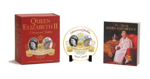 Queen Elizabeth II Diamond Jubilee Commemorative Plate and Book
