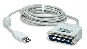 MANHATTAN USB auf Parallel Konverter USB A Stecker auf Cen36 Stecker 3.0 m