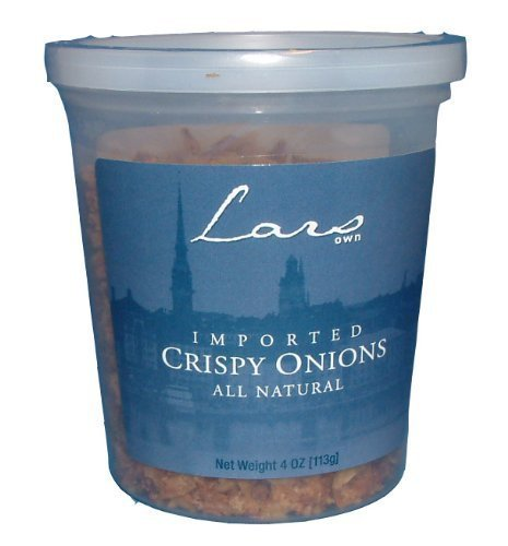 Lars Own Imported Crispy Onions 4 Ounce Package