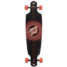 Santa Cruz Skate Pomona Drop Thru Cruzer Skateboard (9.6 x 37.8-Inch)