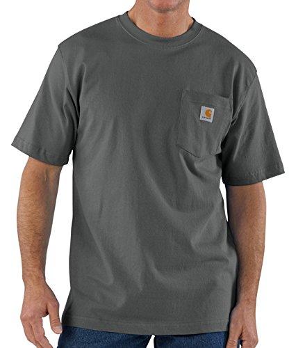 (カーハート)carhartt POCKET Tシャツ CHARCOAL