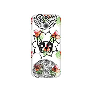 The Racoon Lean Pupcakes hard plastic printed back case / cover for HTC One (M8)