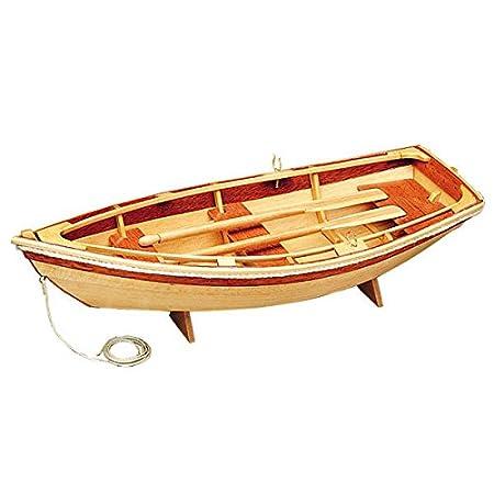 Le Canot: All Wood modèle d'affichage Kit Midwest Produits: Longueur 254mm Age 14 plus