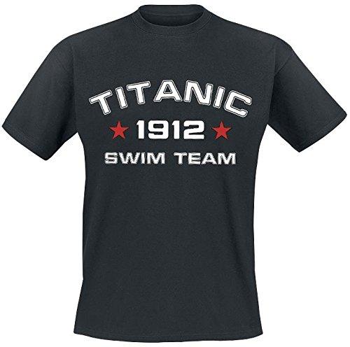 Titanic Swim Team T-Shirt nero XXL