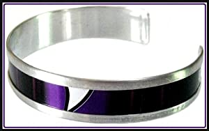 Recycled AMP Energy Drink Purple Slender Cuff