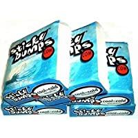 Sticky Bumps Cool/Cold Water Surfboard Wax 5 Pack from Wax Research