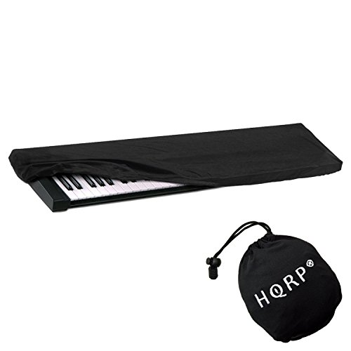 Sale!! HQRP Elastic Dust Cover w/ Bag (Black) for Williams Legato / Allegro 2 Electronic Keyboard Di...