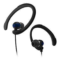 Digital Essentials Active Sports Earhooks W/Mic - Blue