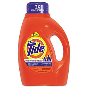 Procter & Gamble Ultra Liquid Tide® Laundry Detergent DETERGENT,TIDE,LIQD,50OZ SNS01658 (Pack of5)