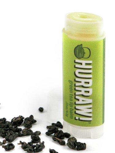 Hurraw! Lip Balm - Green Tea / None