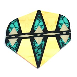 Buy 15pcs set Cuesoul Dfp018 Standard Polyester Dart Flights From Dart Game Accessories Supplies by Cuesoul