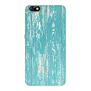 Stylish CyanBlue Bar Texture Back Case Cover for Honor 4X
