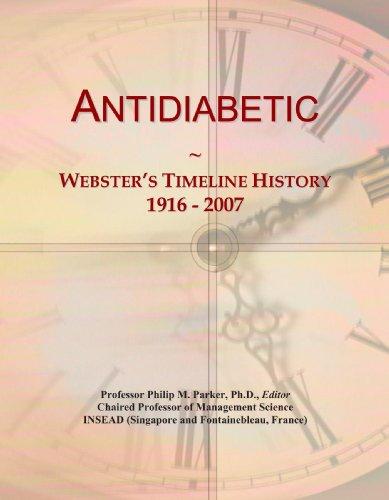 Antidiabetic: Webster's Timeline History, 1916 - 2007