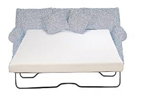 Sleeper Sofa Mattress 4 5 inch Memory Foam Full Size 53x72 inch Sofa Bed Pads PE J
