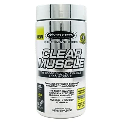 MuscleTech Clear Muscle, Advanced Muscle and Strength Building Formula