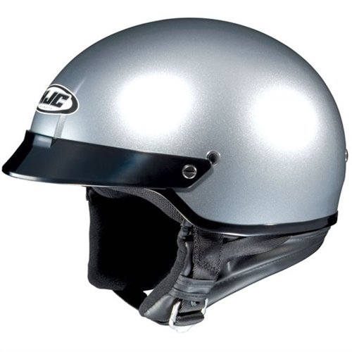 2012 Hjc Cs-2N Motorcycle Helmets - Silver - Small