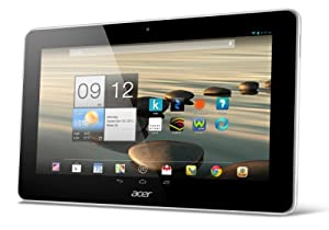 """Acer Iconia A3-A10 Tablette Tactile 10,1"""" (25,65 cm) Mediatek 8125 1,2 GHz 16 Go Android Jelly Bean 4.2.1 Wi-Fi Blanc"""