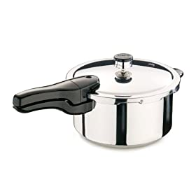 Presto 4-Quart Stainless Steel Pressure Cooker by Pressure Cookers