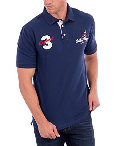BLUE COAST YACHTING Poloshirt marine