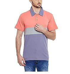 Yepme Men's Multi-Coloured Cotton Polos - YPMPOLO0430_XL