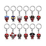 Funko Blind Bag Keychain: Marvel - Deadpool (One Mystery Figure) (Color: Multicolor, Tamaño: Standard)