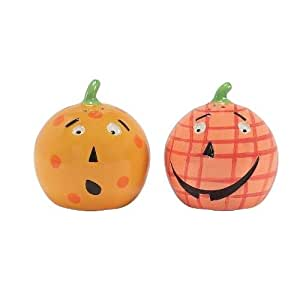 Pumpkin Patch Salt and Pepper Shakers, Set of 2