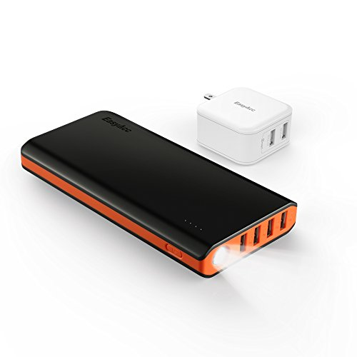 EasyAcc-26000mAh-Brilliant-Power-Bank-48A-Smart-Output-Portable-External-Battery-Pack-4-USB-Ports
