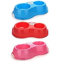 Lovely Pet Dog Puppy Cat Automatic Water Dispenser Food Dishes Bowl Feeder Bottle by Mcitymall