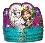 8 Pack of Disney Frozen Tiaras Paper...