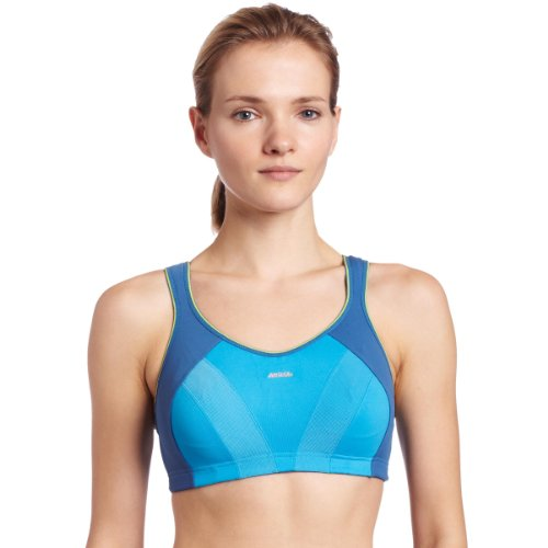 Shock Absorber Women's Multi Sports Max Support Sports Bra Top, Kingfisher/Teal, 38B