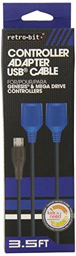 Retro-Bit Genesis To Pc Usb Cable - Sega Genesis front-1047568