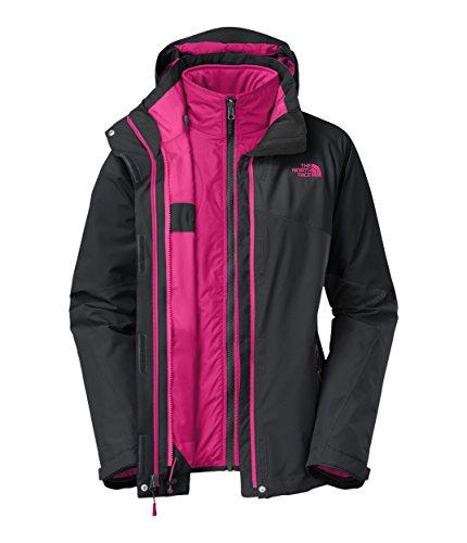 The North Face Cinnabar Triclimate Jacket Women'S Rambutan Pink/Rambutan Pink/Cerise Pink Xs