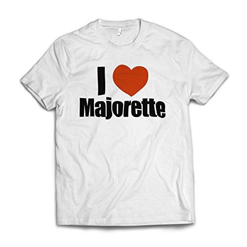 Neonblond I Love Majorette American Apparel T-Shirt Large