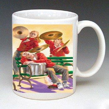 Ready Set Run Drums Mug