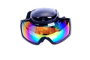 Walsoon HD 720P Camera Vibration Snow Skiing Ski Goggles Glasses