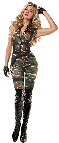 Sexy Paratrooper Women Costume