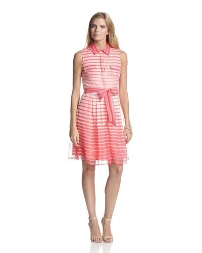 Vince Camuto Women's Sleeveless Shirt Dress