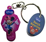 Disney Minnie Keychain Light up Keyring - Minnie Magenta