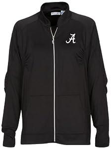 NCAA Alabama Crimson Tide Ladies Donya Jacket, Black, Large by Oxford