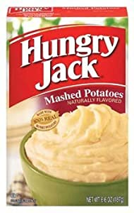 Hungry Jack Instant Mashed Potatoes 6.6 oz