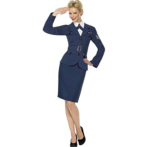 WW2 Air Force Female Captain Adult Costume